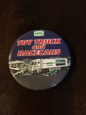 Hess Toy Truck And RaceCars Employee Pin