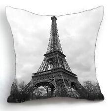 Modern Fashion Paris Eiffel Tower Home Decorative Pillow Case Cushion Cover 18''
