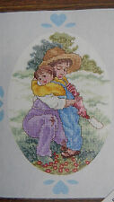 JCA Love Notes Cross Stitch Kit HUGS Mother and Child in Embrace NEW made in USA