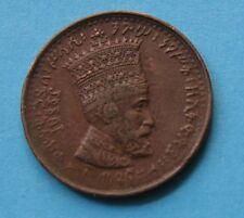 5 Matonas 1930/31 Regno di Etiopia -Imp. H.Selassie