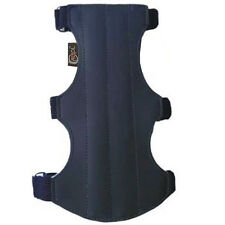 CAROL TARGET ARCHERY ARM GUARD SYNTHETIC LEATHER SAG202 (19cm LONG X 9cm WIDE).