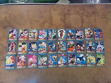 Dragonball Z Trading Cards 30 Cards/ No Duplicates Bandai Made in Japan
