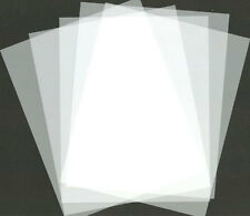 5 AIRBRUSH STENCIL-TEMPLATE BLANKS-Cut Your Own Design!