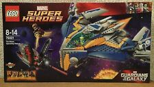 LEGO 76021 Guardians of the Galaxy Milano w/5 minifigures Brand New Sealed
