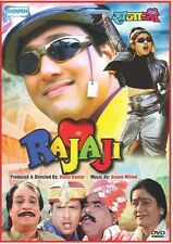 Rajaji - Hindi Movie DVD Region Free English Subtitles / Govinda Raveena Tandon