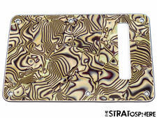 *NEW Bronze Abalone TREMOLO BACK COVER for Fender Stratocaster Strat 3 Ply