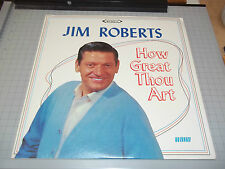 Jim Roberts How Great Thou Art Rare Stereo Gospel LP Word Records Fast Shipping!