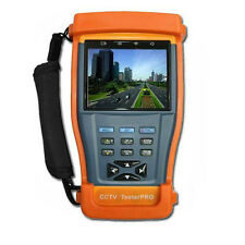 CCTV Camera UTP Cable RS485 Audio Video Test Monitor PTZ Controller 3.5'' TFTLCD