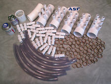 """Manifold Hot Tub Spa Part 30 3/4"""" Outlets Glue with Coupler Kit Video How To"""