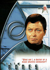 STAR TREK 35TH ANNIVERSARY BONES CARD BB1