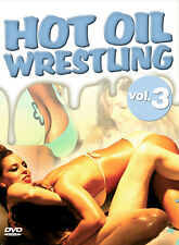 DVD Hot Oil Wrestling 3     more than 100 Min Slippery Fun DVD