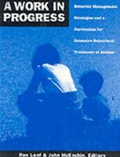 A Work in Progress : Behavior Management Strategies and a Curriculum for...