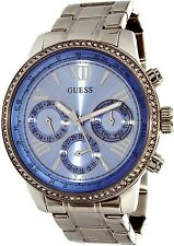 Guess Women's U0559L4 Silver Stainless-Steel Quartz Watch