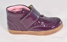 Bo-bell Girls Flipper Violet Leather Ankle Boots UK 11 EU 29 US 11.5 RRP £48.00