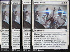 XXX 4x STASIS SNARE englisch battle for zendikar (flash removal white) NM/MINT