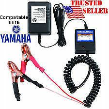 BATTERY TRICKLE TENDER/AUTOMATIC FLOAT CHARGER/SUPER QUICK USA SHIP~EZ USE CLIPS