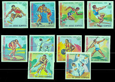 OLYMPIC 1976 Guinea Ecuatorial IMPERFORATE Complete Set MNH VF