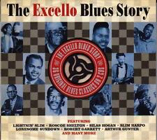 THE EXCELLO BLUES STORY - VARIOUS ARTISTS  (NEW SEALED 2CD)
