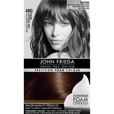 John Frieda Color de espuma de precisión-Marrón Chocolate Oscuro 4BG