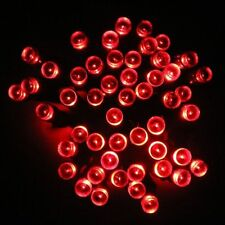 55ft- 55' RED LED Outdoor Party Lights Pool Porch Patio Gazebo Deck Dock