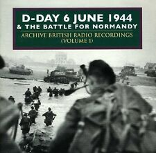 Vol. 1-D-Day The Battle Of Normandy June1944 - D-Day & Normandy (2006, CD NEUF)