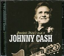JOHNNY CASH GREATEST HITS I AND II - 2 CD BOX SET - RING OF FIRE & MANY MORE