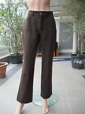 MAC - Hose in Jeansstyle Modell Melanie braun Gr. 40 L32