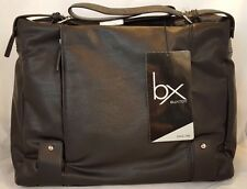 """NEW BX Buxton Lap Top Case Up To 15"""" & 3 Media Pockets Lois Tote"""
