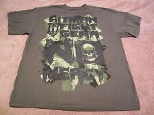HITMAN Fight Gear MMA Men's Green, No Mercy Graphic Short Sleeve T-Shirt Size XL