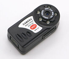 Mini Q7 WIFI P2P Surveillance Spy Remote Camera DVR iPhone Android night vision