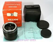 Helios 3x Automatic Tele converter 3x magnification M42 mount.Excellent