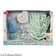 Disney Store Elsa Winter Gloves Play Set Frozen 5 Magnetic Play Pieces NIB