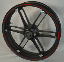 G0110.02A8BYDC, NEW Buell Front Piranha Black With Red Wheel, All XB'S & 1125's
