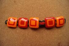 "Moschino ""I Love 70""  BRACELET FOR A WATCH  RED/ORANGE COLOUR"