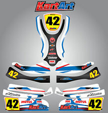 Arrow X1 full custom KART ART sticker kit STORM STYLE / graphics / decals