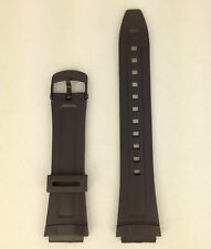 Casio Illuminator AW-80-1AV Genuine Replacement Strap AW-82 Black Rubber Band