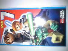 Anniversaire cartes (stars wars lego à thème) 7 ans