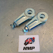 YAMAHA RD125LC MK1 MK2 MK3 CHAIN ADJUSTER WHEEL PULLS X2 NEW
