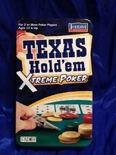 Texas Holdem Xtreme Poker In Tin Can Case 100 chips & 2 decks unopened