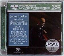 DVORAK CELLO CONCERTO STARKER DORATI SACD MERCURY LIVING PRESENCE SEALED
