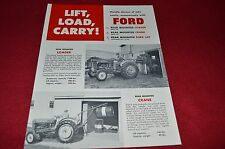 Ford Tractor Lift Load Carry Dealer's Brochure LCPA