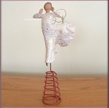 SONG OF JOY TREE TOPPER FIGURE FROM WILLOW TREE® ANGELS FREE U.S. SHIPPING