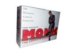 Monk: The Complete Series Seasons 1-8 (DVD, 2010, 32-Disc Set) 1 2 3 4 5 6 7 8