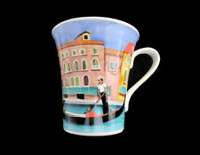 New VERDI Large Coffee Tea Italy Venice Image Mugs Cups Colours