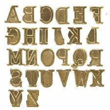 Wood Burning Pyrography Alphabet Letter Symbols Stamps Personalization Set Kit