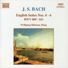 English Suites Nos. 4-6 - J.S. Bach (1996, CD NIEUW) Rubsam*Wolfgang (PNO)
