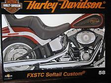 FASCICULE 58 HARLEY DAVIDSON FXSTC SOFTAIL CUSTOM / GOLD DIGGER / LE GT