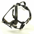 Redline K9 Padded Leather Quick Release Dog Protection and Tracking Harness