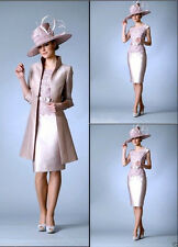 Hot Sale Mother Of The Bride Dress Long Coat Wedding Guest Outfit Custom Made