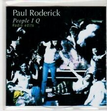 (BQ385) Paul Roderick, People IQ - 2010 DJ CD